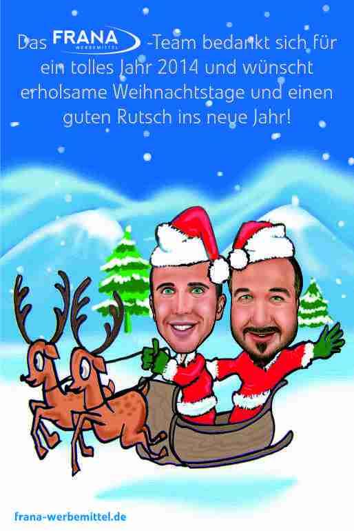 Schöne Weihnachten 2014